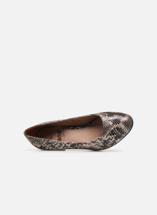Escarpins Jana shoes JELICA Marron vue gauche