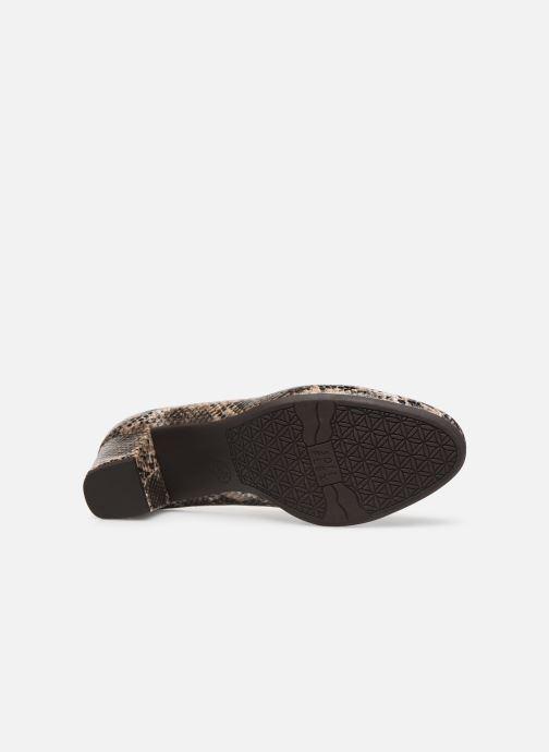 Escarpins Jana shoes JELICA Marron vue haut