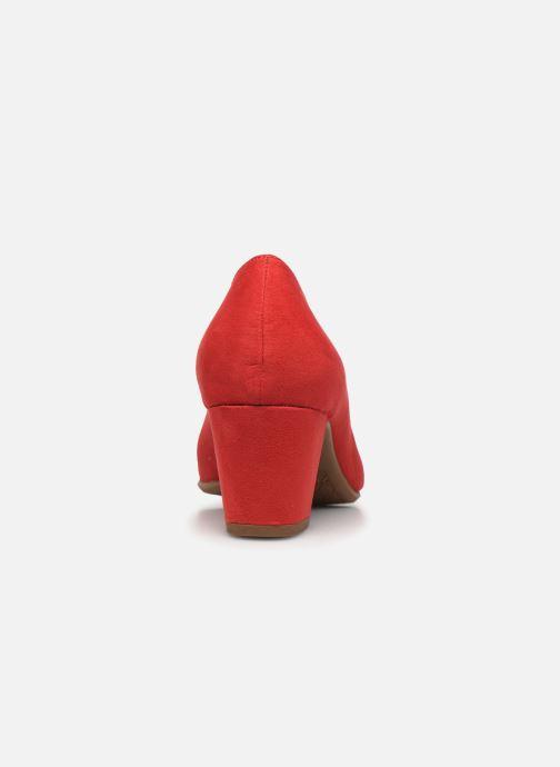 Zapatos de tacón Jana shoes JELICA Rojo vista lateral derecha