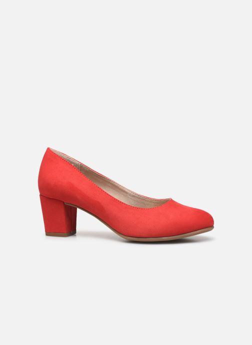 Pumps Jana shoes JELICA Rood achterkant