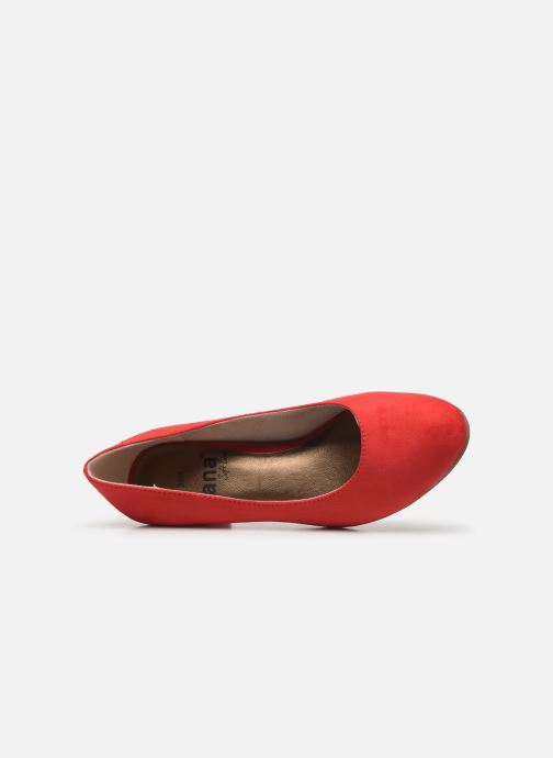 Zapatos de tacón Jana shoes JELICA Rojo vista lateral izquierda