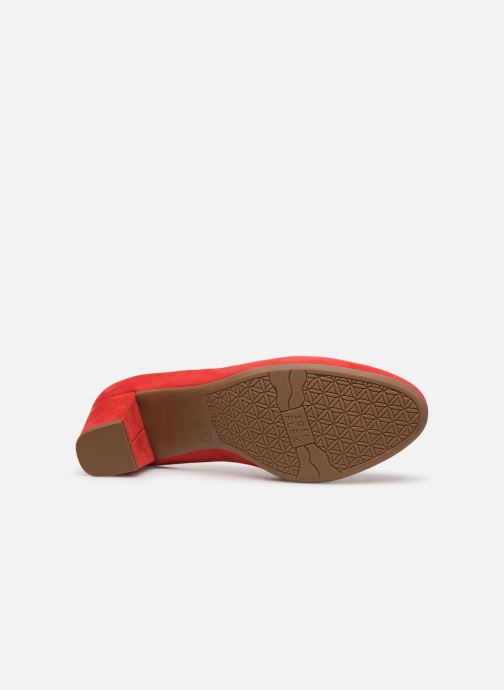 Zapatos de tacón Jana shoes JELICA Rojo vista de arriba