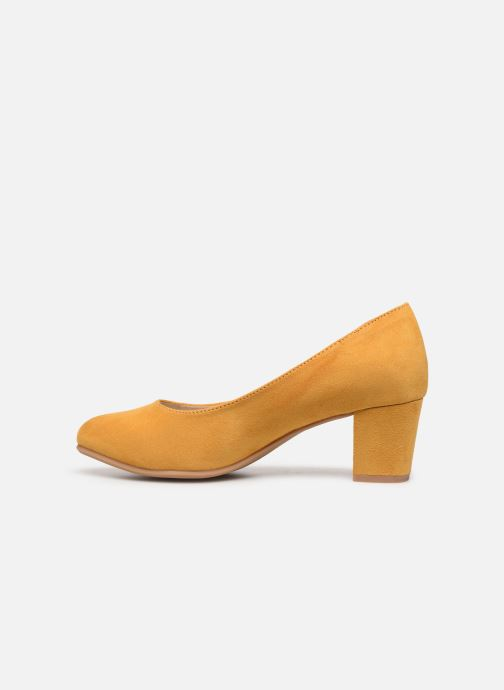 Escarpins Jana shoes JELICA Jaune vue face