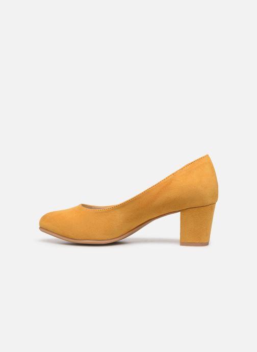 Pumps Jana shoes JELICA Geel voorkant