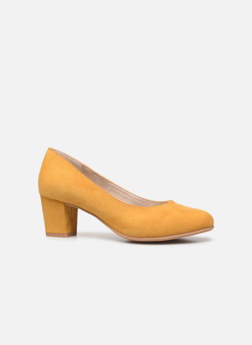 Pumps Jana shoes JELICA Geel achterkant
