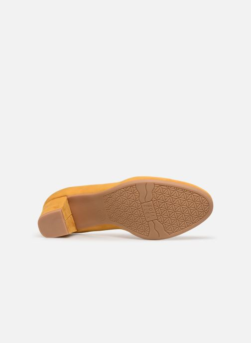 Escarpins Jana shoes JELICA Jaune vue haut