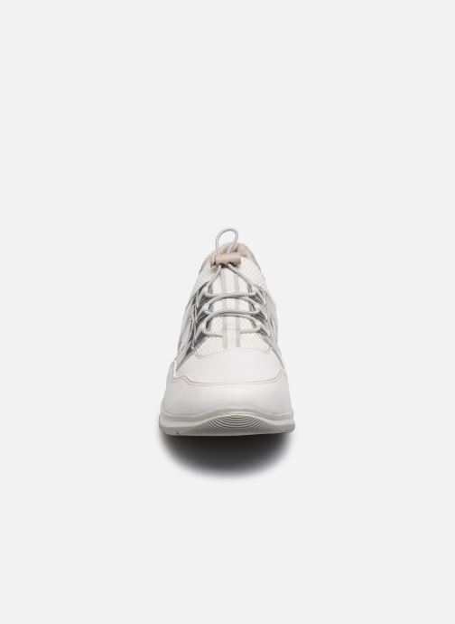 Sneakers Jana shoes JOALA Argento modello indossato