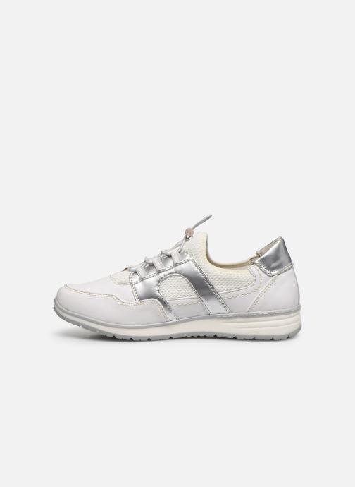 Sneakers Jana shoes JOALA Zilver voorkant