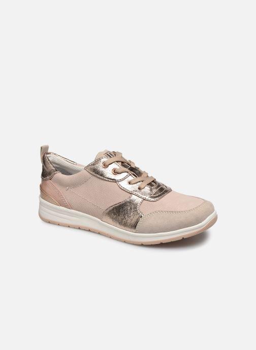 Baskets Jana shoes JODDY Rose vue détail/paire