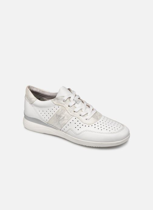 Baskets Jana shoes JONE Blanc vue détail/paire