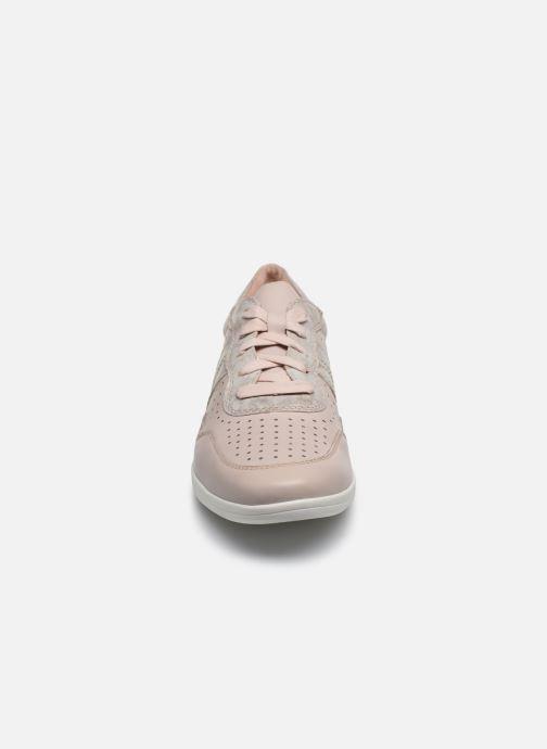 Sneakers Jana shoes JONE Rosa modello indossato