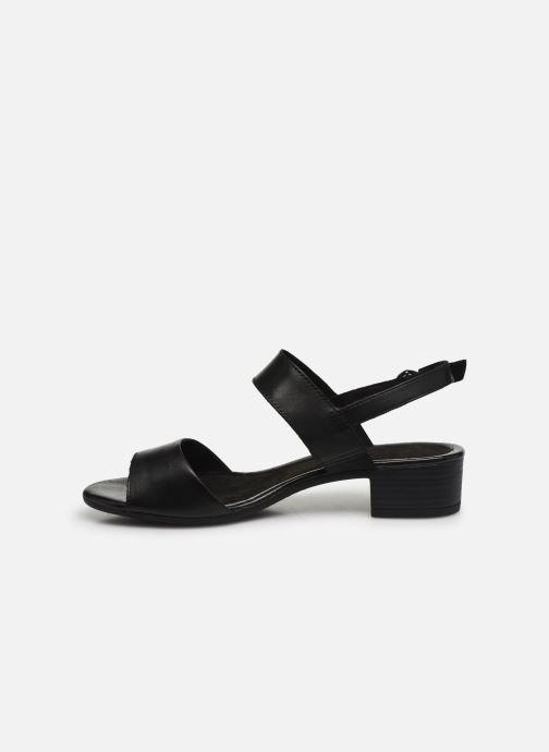 Sandalias Jana shoes JINI Negro vista de frente