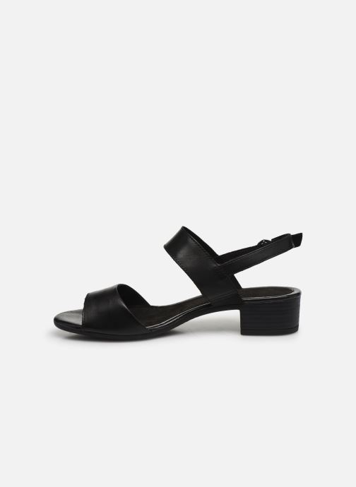 Sandalen Jana shoes JINI Zwart voorkant