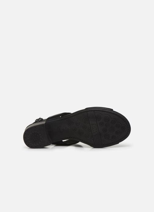 Sandalias Jana shoes JINI Negro vista de arriba