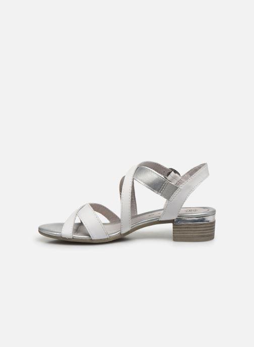 Sandalen Jana shoes JACK Wit voorkant