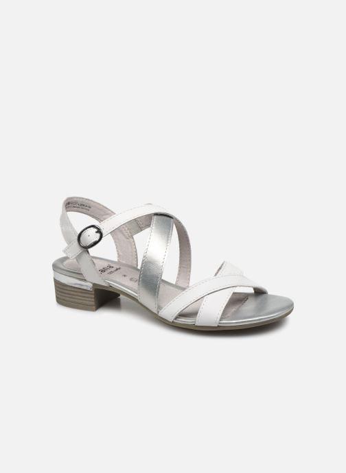 Sandalen Jana shoes JACK weiß detaillierte ansicht/modell