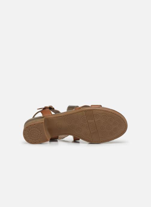 Sandalen Jana shoes JACK Bruin boven