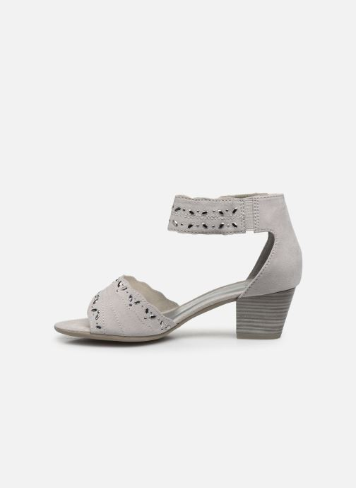 Sandalias Jana shoes JALA Gris vista de frente