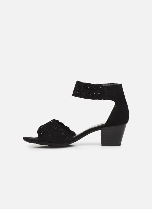 Sandalen Jana shoes JALA Zwart voorkant