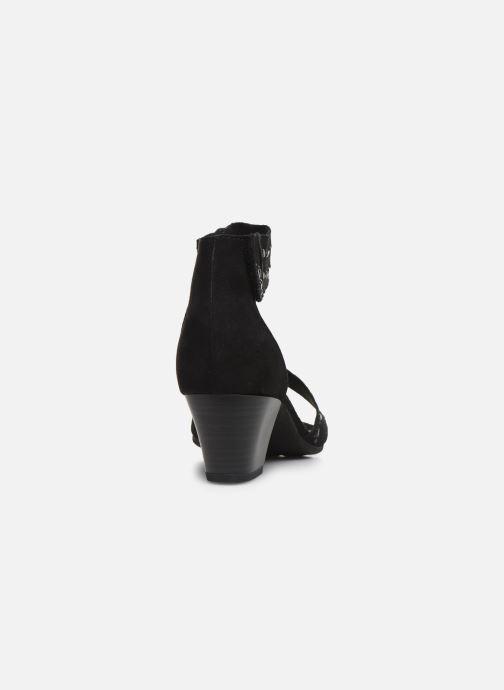 Sandalen Jana shoes JALA Zwart rechts