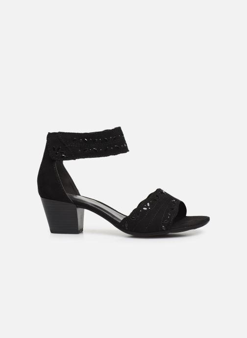 Sandalen Jana shoes JALA Zwart achterkant