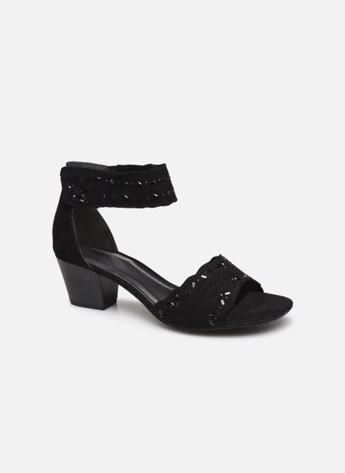 Sandalen Jana shoes JALA Zwart detail