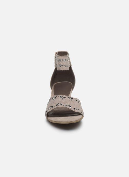 Sandalias Jana shoes JALA Gris vista del modelo