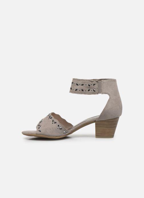 Sandalias Jana shoes JALA Gris vista de frente