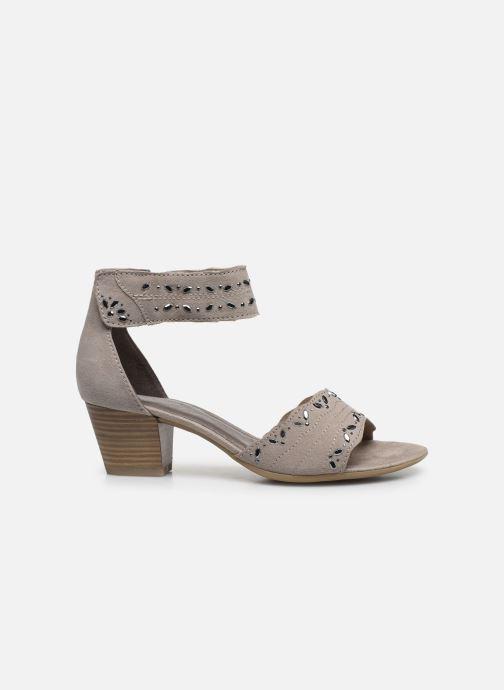 Sandales et nu-pieds Jana shoes JALA Gris vue derrière