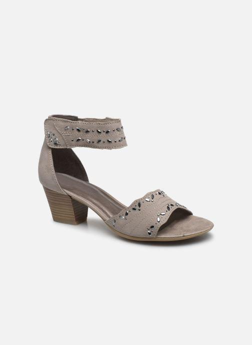 Sandales et nu-pieds Jana shoes JALA Gris vue détail/paire
