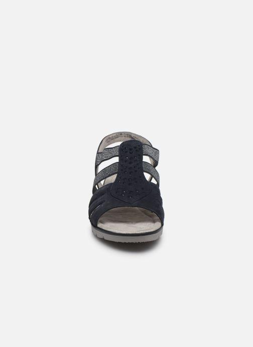 Sandali e scarpe aperte Jana shoes JIMY Azzurro modello indossato