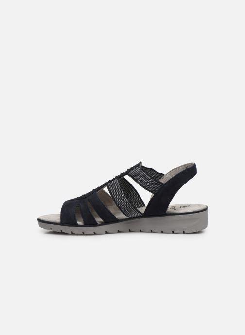 Sandales et nu-pieds Jana shoes JIMY Bleu vue face