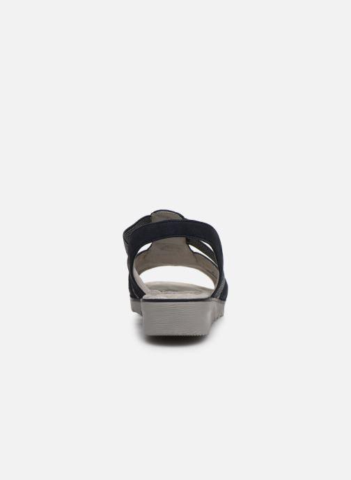 Sandales et nu-pieds Jana shoes JIMY Bleu vue droite