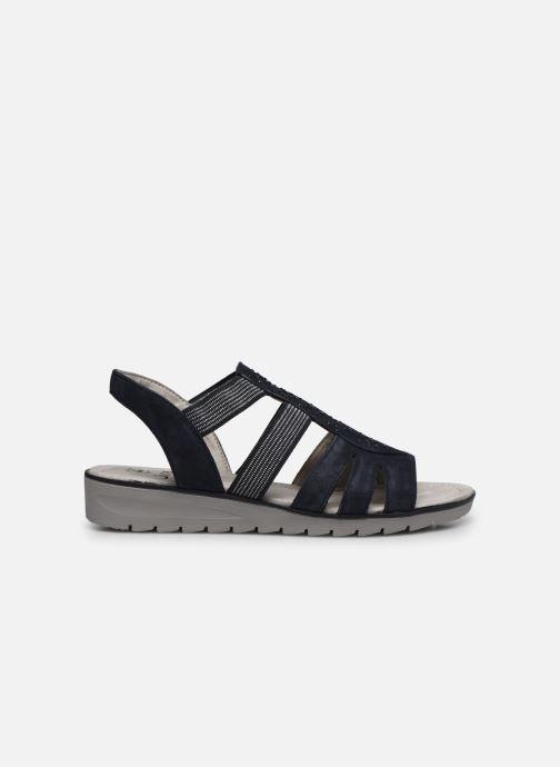 Sandales et nu-pieds Jana shoes JIMY Bleu vue derrière