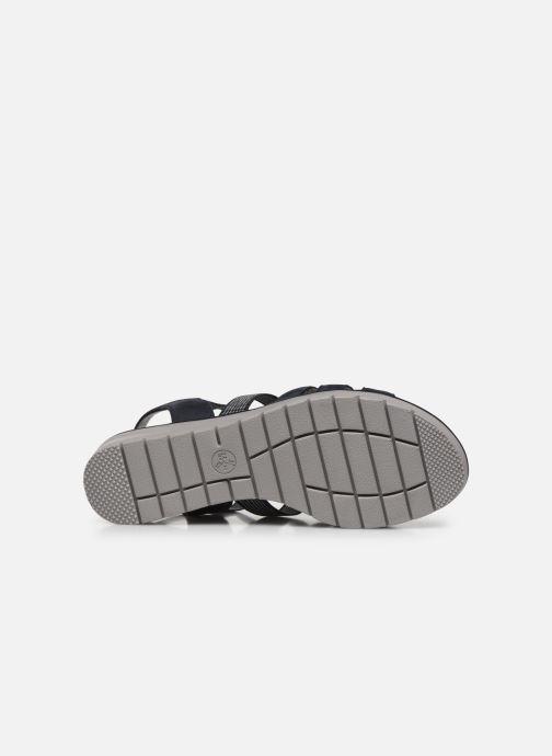 Sandales et nu-pieds Jana shoes JIMY Bleu vue haut