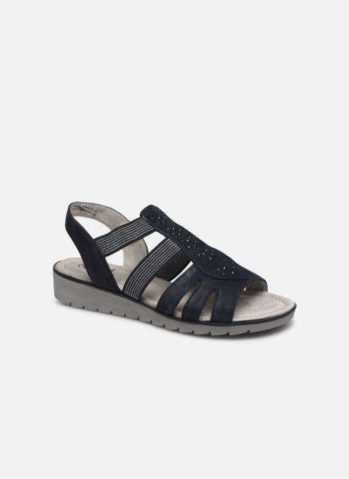 Sandales et nu-pieds Jana shoes JIMY Bleu vue détail/paire