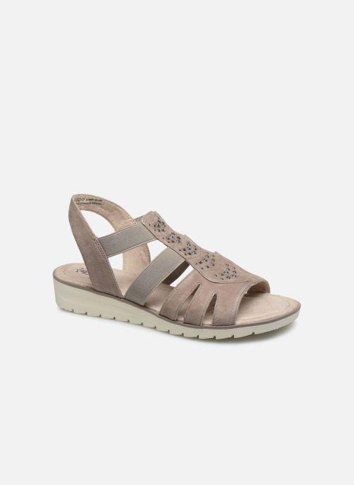 Sandalias Jana shoes JIMY Gris vista de detalle / par