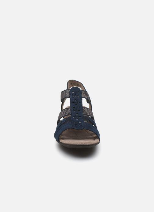 Sandales et nu-pieds Jana shoes JANE Bleu vue portées chaussures