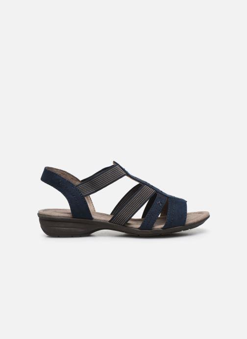 Sandales et nu-pieds Jana shoes JANE Bleu vue derrière