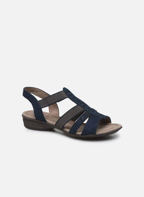 Sandales et nu-pieds Jana shoes JANE Bleu vue détail/paire