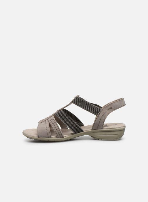 Sandalen Jana shoes JANE grau ansicht von vorne