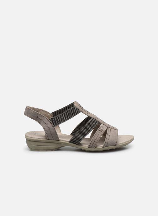 Sandalen Jana shoes JANE grau ansicht von hinten