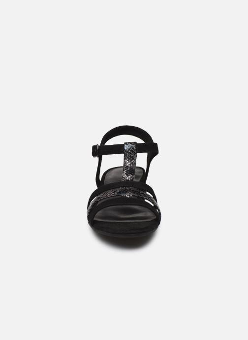Sandales et nu-pieds Jana shoes JERLI Noir vue portées chaussures