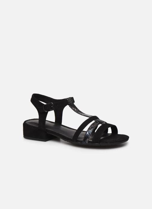 Sandales et nu-pieds Jana shoes JERLI Noir vue détail/paire