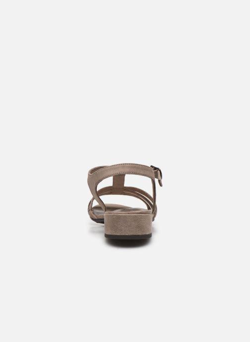 Sandalen Jana shoes JERLI Beige rechts