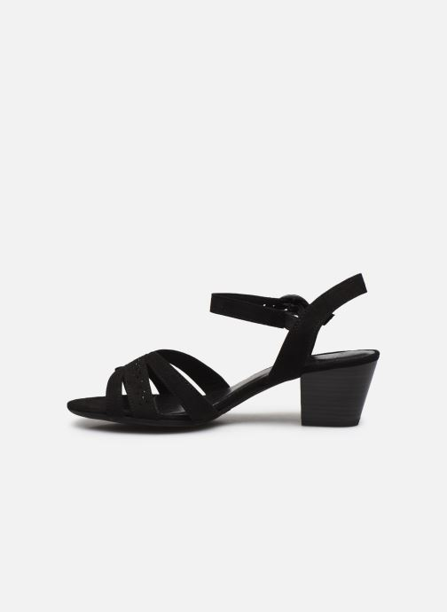 Sandales et nu-pieds Jana shoes JERLI HIGH Noir vue face