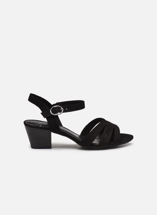 Sandales et nu-pieds Jana shoes JERLI HIGH Noir vue derrière