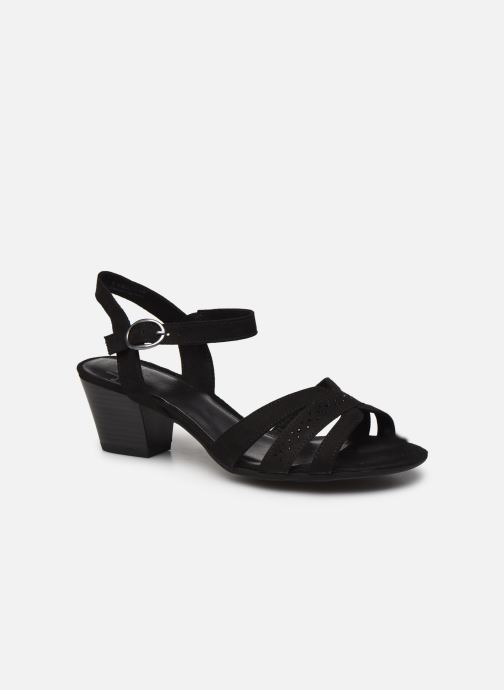 Sandales et nu-pieds Jana shoes JERLI HIGH Noir vue détail/paire