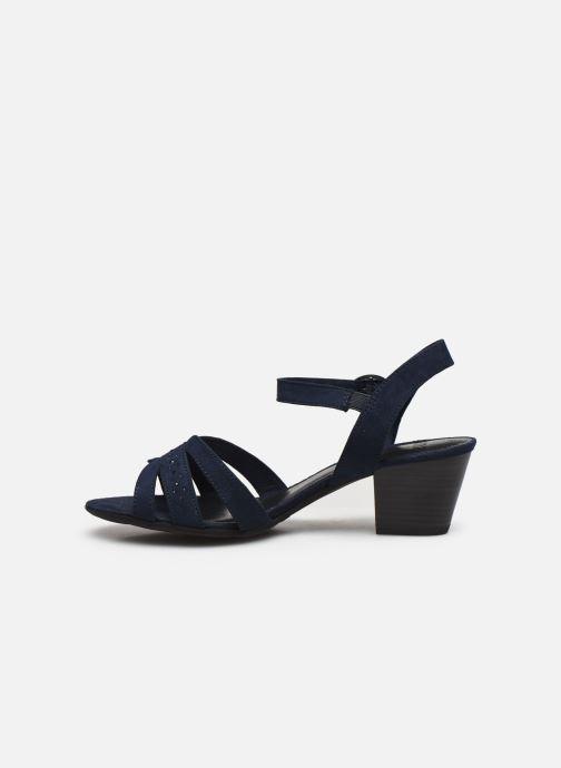 Sandali e scarpe aperte Jana shoes JERLI HIGH Azzurro immagine frontale
