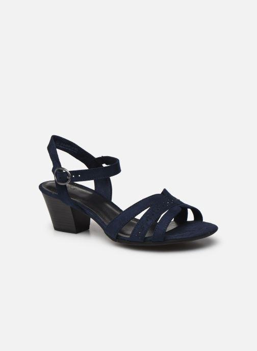Sandales et nu-pieds Jana shoes JERLI HIGH Bleu vue détail/paire